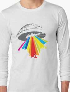 colour invaders #2 Long Sleeve T-Shirt
