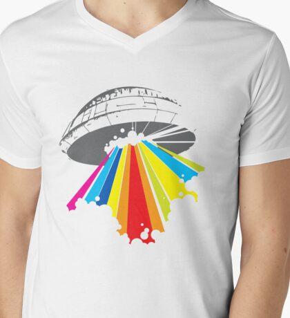 colour invaders #2 Mens V-Neck T-Shirt