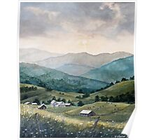 Mountain Valley Farm Poster