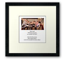 O2L Our 2nd Life Framed Print