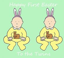 Happy First Easter to the twins. by KateTaylor