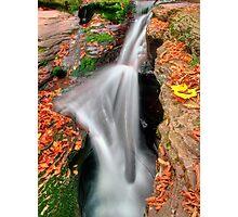 Murray Reynolds Falls (detail) Photographic Print