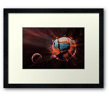 Exploding Planet Framed Print