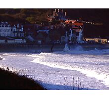 Sea Front Sandsend Photographic Print