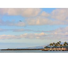 The Island of Oahu, Hawaii Photographic Print