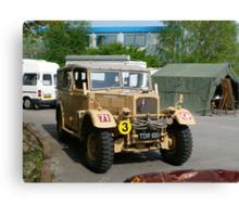 "1941 ""Humber"" Staff Car Canvas Print"