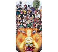 Naruto and ninjas  iPhone Case/Skin