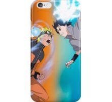 Naruto vs Sasuke  iPhone Case/Skin