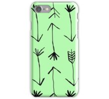 Hunters Arrow Green iPhone Case/Skin