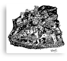 Mind Wandering Canvas Print
