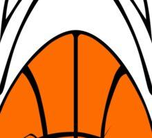 Sports Mascot - Basketball Sticker