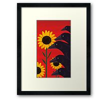 A Murder In The Field  Framed Print