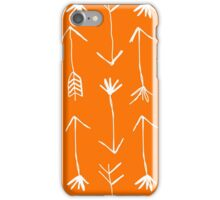 Hunter Arrow Orange  iPhone Case/Skin