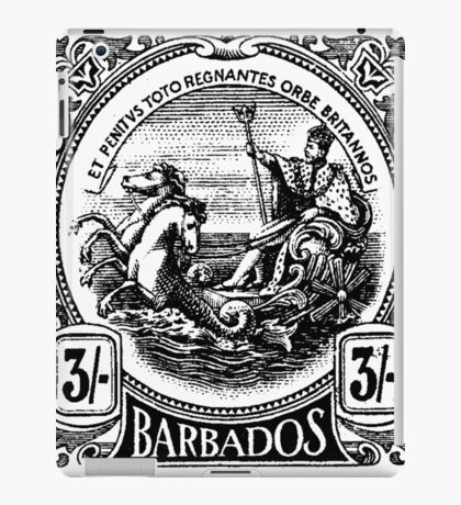 BARBADOS-STAMP iPad Case/Skin