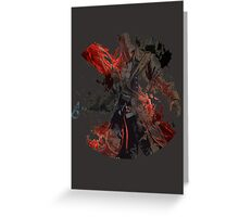 Assassins creed 3 conner  Greeting Card