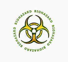 Biohazard Zombie Warning Unisex T-Shirt