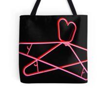 Neon Hangers Tote Bag
