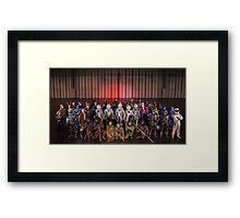 Winter Memorabilia - Reel Icons & UKP Framed Print