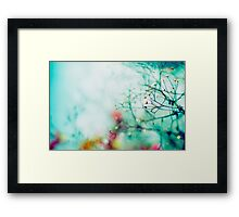 """The future belongs to those who believe in the beauty of their dreams."" Framed Print"