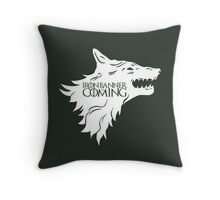 Iron Banner is Coming Throw Pillow