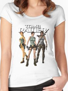 Lara Croft - Tomb Raider Women's Fitted Scoop T-Shirt