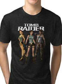 Lara Croft - Tomb Raider Tri-blend T-Shirt