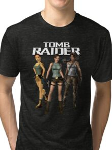 Lara Croft - Tomb Raider Tri-blend T-Shirt