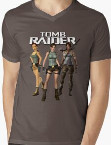 Lara Croft - Tomb Raider Mens V-Neck T-Shirt
