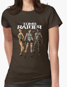 Lara Croft - Tomb Raider Womens Fitted T-Shirt