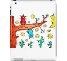 Crazy Owls iPad Case/Skin