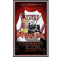 Mystery at the Movies Photographic Print