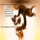 As a Little Child Come to Me Jesus said by RealPainter