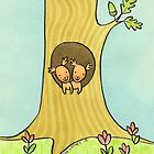 New Home Squirrel Couple by zoel