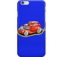 HOT ROD BEAST V8 CHEV STYLE iPhone Case/Skin