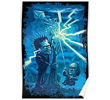 Ben Franklin an His Monster Light It Up Poster