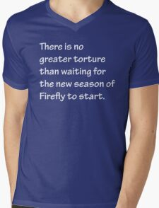 No Greater Torture - Firefly Mens V-Neck T-Shirt