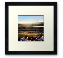 An Evening At The Ballpark 2 Framed Print