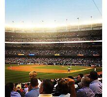 An Evening At The Ballpark 2 Photographic Print