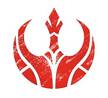 Rebels Segmented Logo (White Background) by JoshBeck