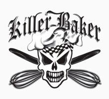 Baker Skull 2: Killer Baker and Crossed Whisks by sdesiata