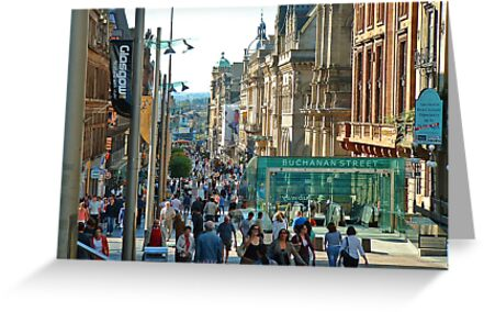 Buchanan Street, Glasgow by Stuart  Fellowes