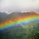Manoa Valley Rainbow by kevin smith  skystudiohawaii