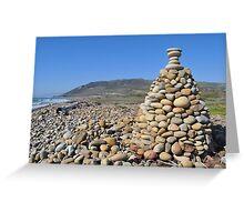 Rock Tepee Greeting Card