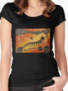 Burgess Shale Women's Fitted Scoop T-Shirt