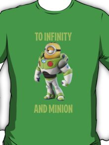 Minion buzzing light year to infinity T-Shirt