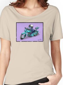 MOTORCYCLE CLASSIC HARLEY STYLE Women's Relaxed Fit T-Shirt