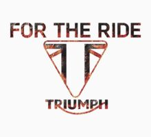 Custom hot Triumph logo new style by april nogami