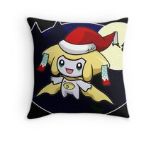 Sleepy Santa Throw Pillow