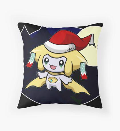 Sleepy Santa Throw Pillow