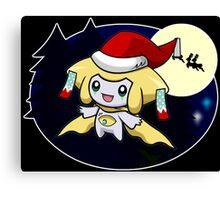 Sleepy Santa Canvas Print